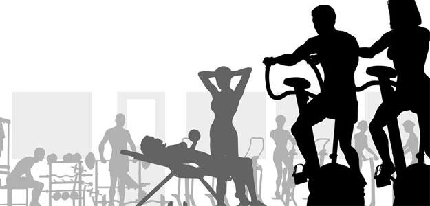 健身项目图片素材